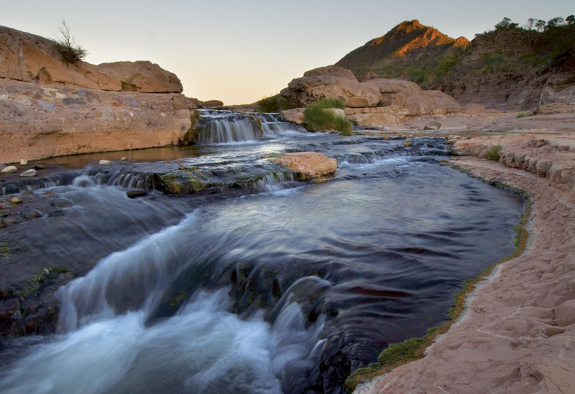 manatiales estacionales-Sierras la Giganta y Guadalupe